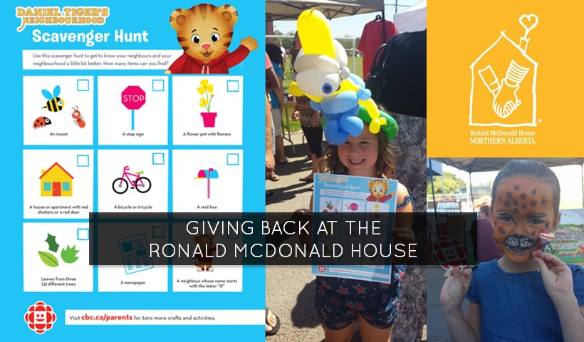 Making a Difference at the Ronald McDonald House