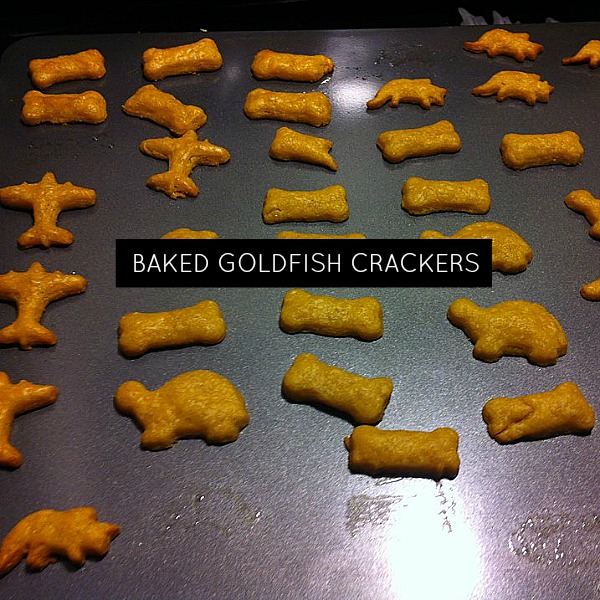Baked Goldfish Crackers