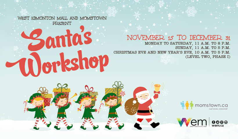 Santa's Workshop is Coming to Town!!