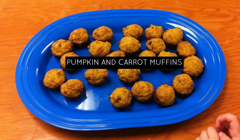 Pumpkin and Carrot Muffins