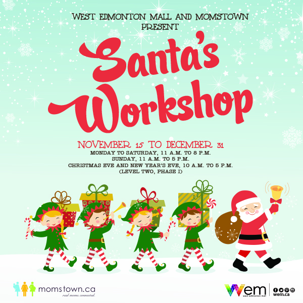 By Invitation Only: #ParentsNightOut at Santa's Workshop!