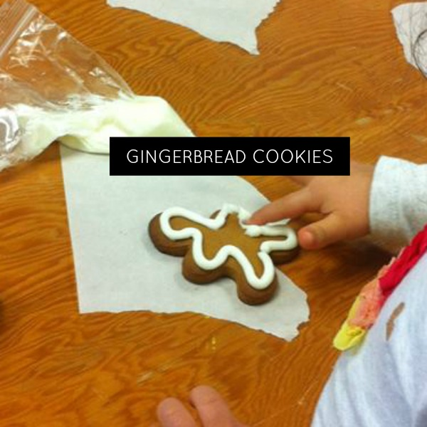 Kid Friendly Gingerbread Cookies