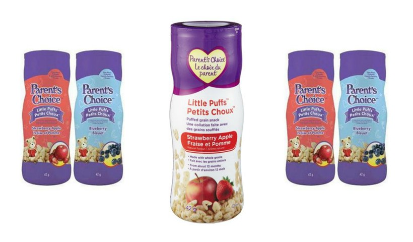 Tested: Parent's Choice™ Little Puffs™ Grain Snacks
