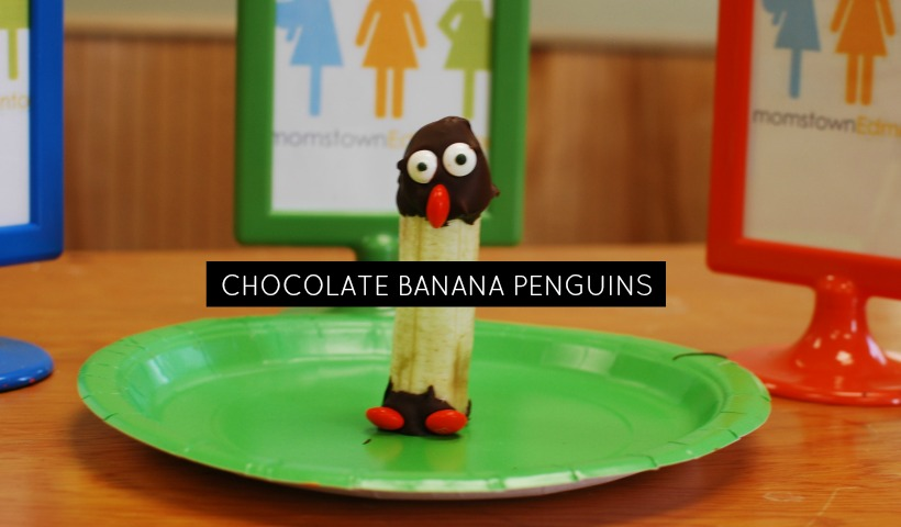 Chocolate Banana Penguins